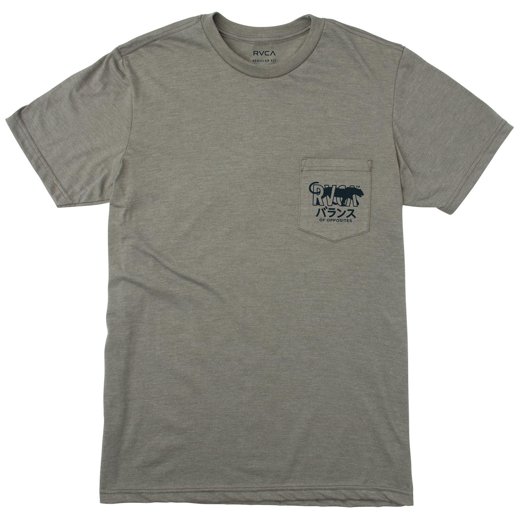 RVCA Cat Corp Grey