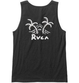 RVCA Palmer Tank Black