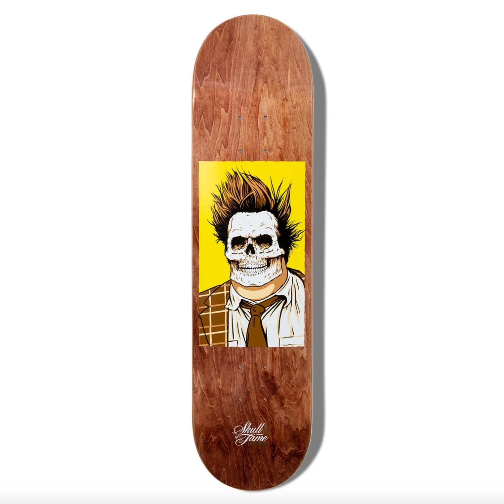 "Girl Skateboard Company McCrank Skull of Fame 7.875"""