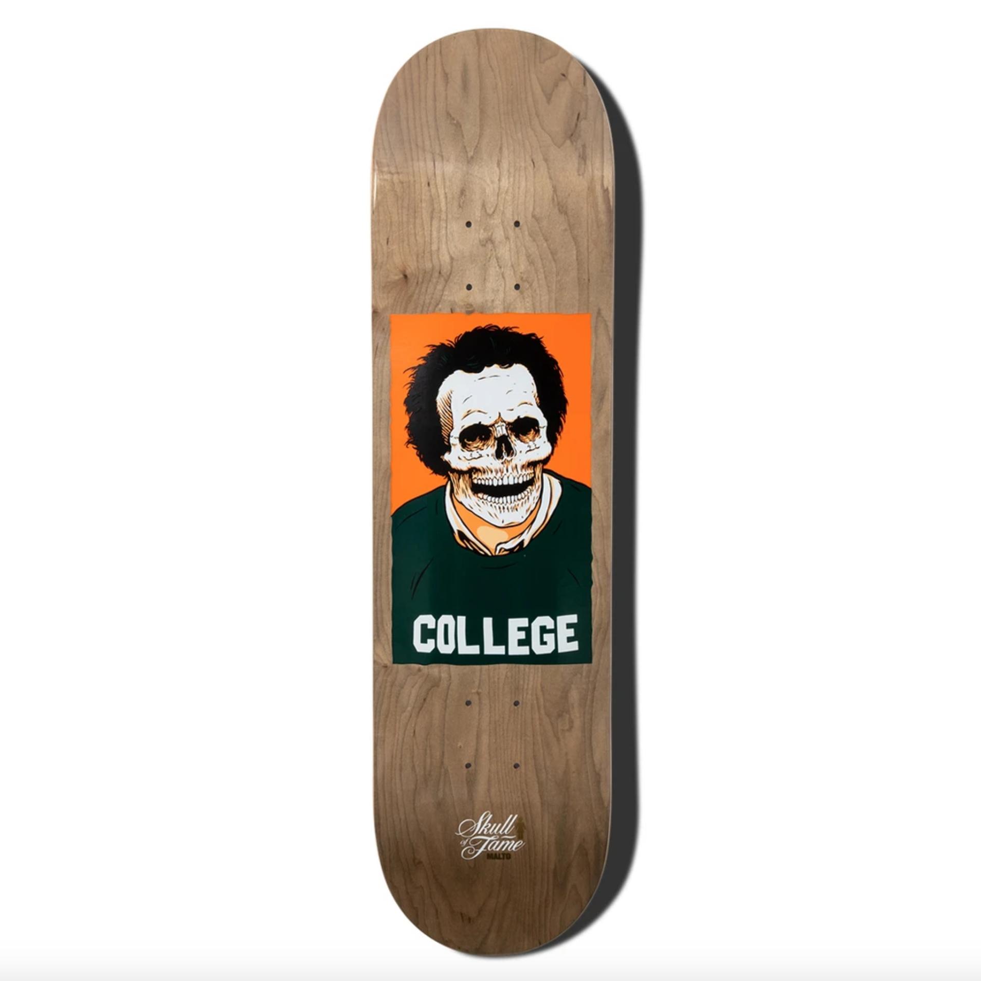 """Girl Skateboard Company Malto Skull of Fame 8.25"""""""