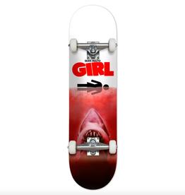 """Girl Skateboard Company Malto Shark Attack Red Complete 7.5"""""""