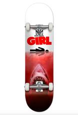 """Girl Skateboard Company Malto Shark Attack Red Complete 7.75"""""""