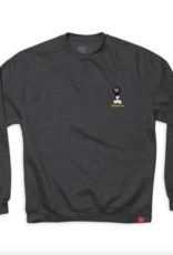 Chocolate Skateboards 8 Ball Charcoal Heather Crew
