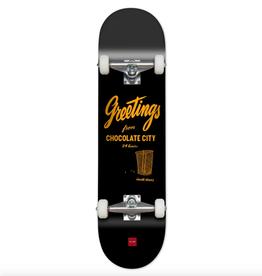 "Chocolate Skateboards Alvarez Chocolate City 7.8"" Complete"