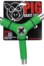 Pig Wheels Pig Tri-Socket Threader Green Tool