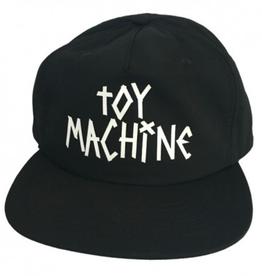 Toy Machine Tape Logo Black Cap
