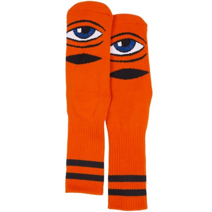 Toy Machine Sect Eye Sock Orange