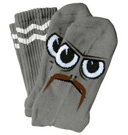 Toy Machine Turtleboy Stache Grey Sock