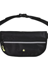 Bum Bag Hi Viz Folder Hip Pack Black