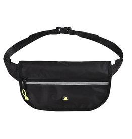Bum Bag Hi Viz Folder Hip Pack Black