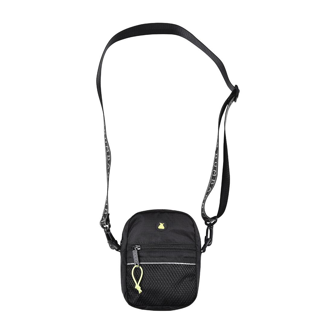 Bum Bag Hi Viz Compact Shoulder Bag Black Apb Skateshop Llc