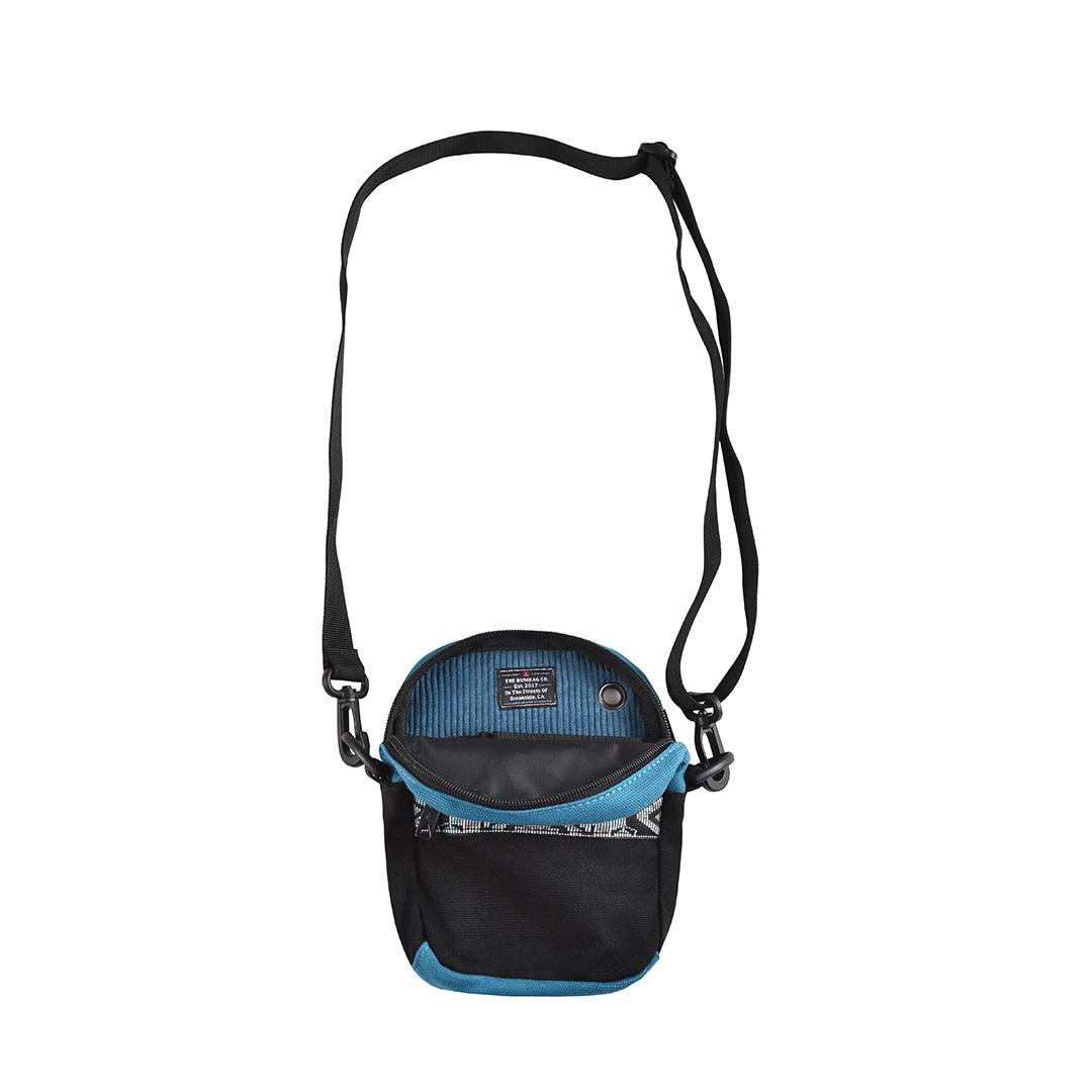 Bum Bag Oaker Compact Shoulder Bag Black Apb Skateshop Llc