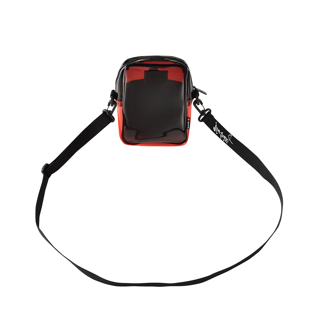 Bum Bag Kevin Bradley Compact Shoulder Bag Red