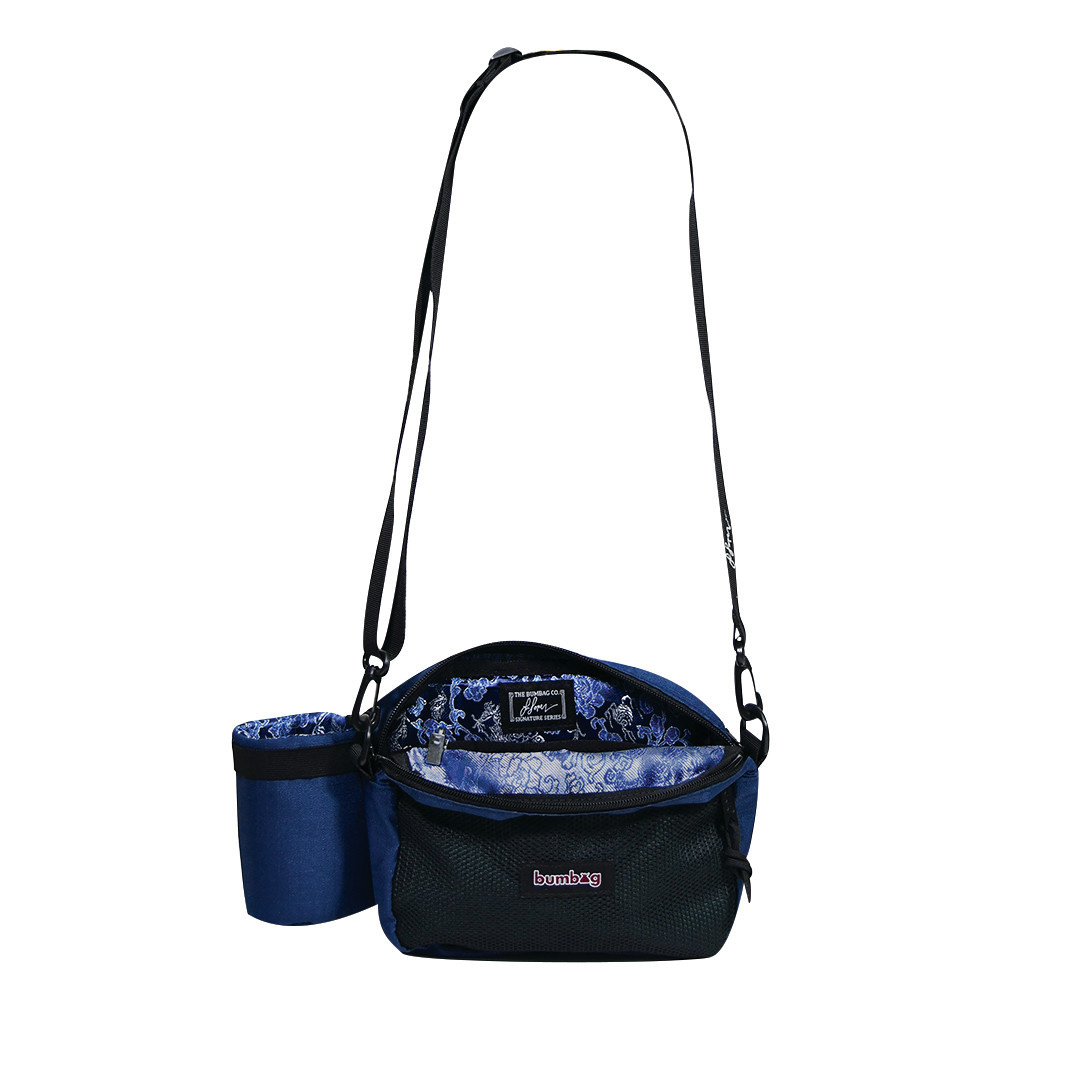Bum Bag Louie Lopez Compact XL Shoulder Bag w/ Bottle Holder