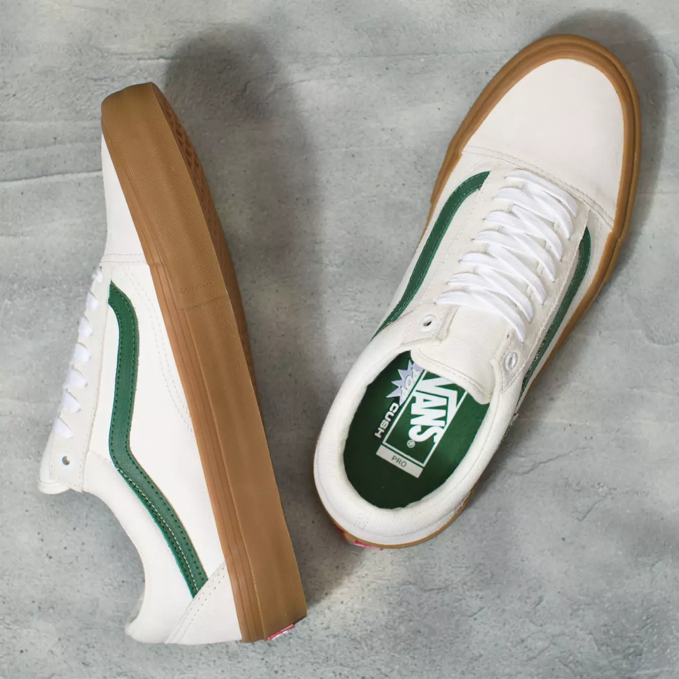 Vans Shoes Old Skool Pro Marshmallow/Alpine