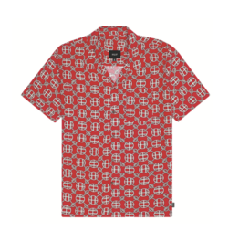 HUF Atlelier Resort Woven Red
