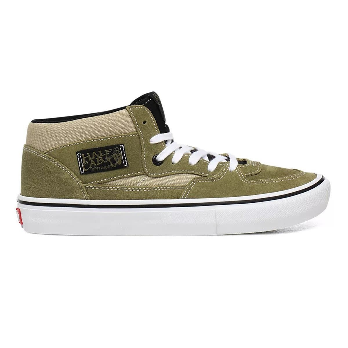 Vans Shoes Half Cab Pro Lizard/White