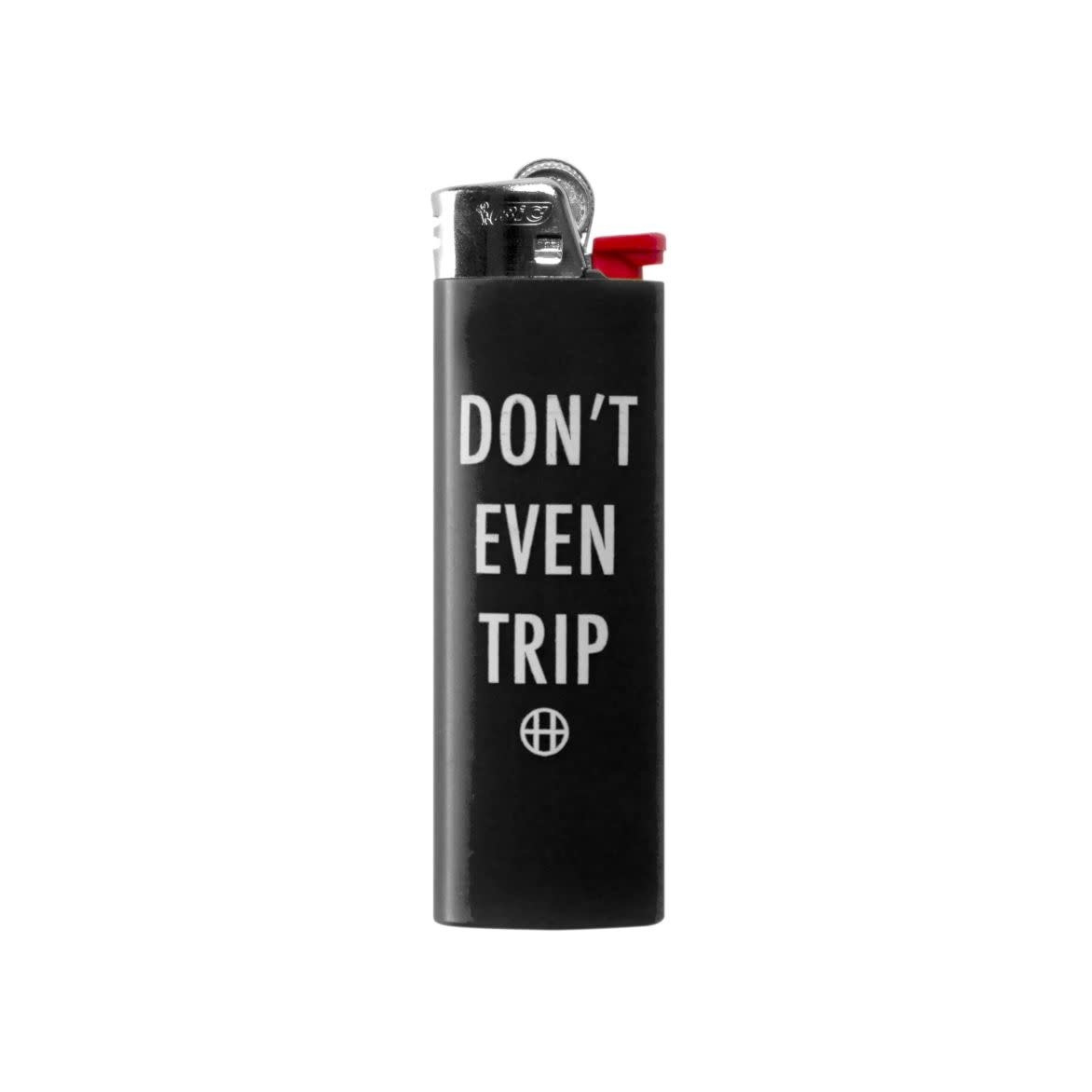 HUF Dont Even Trip Lighter Black
