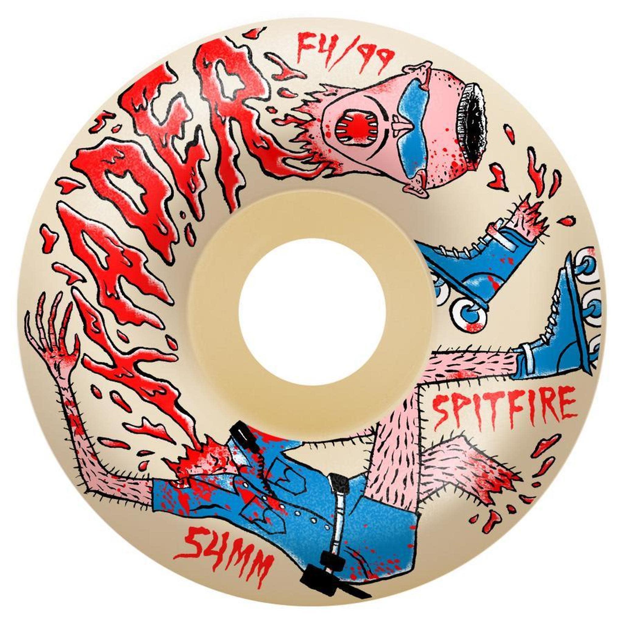 Spitfire Wheels Spitfire F4 99 Kader Neckface 54 Radial