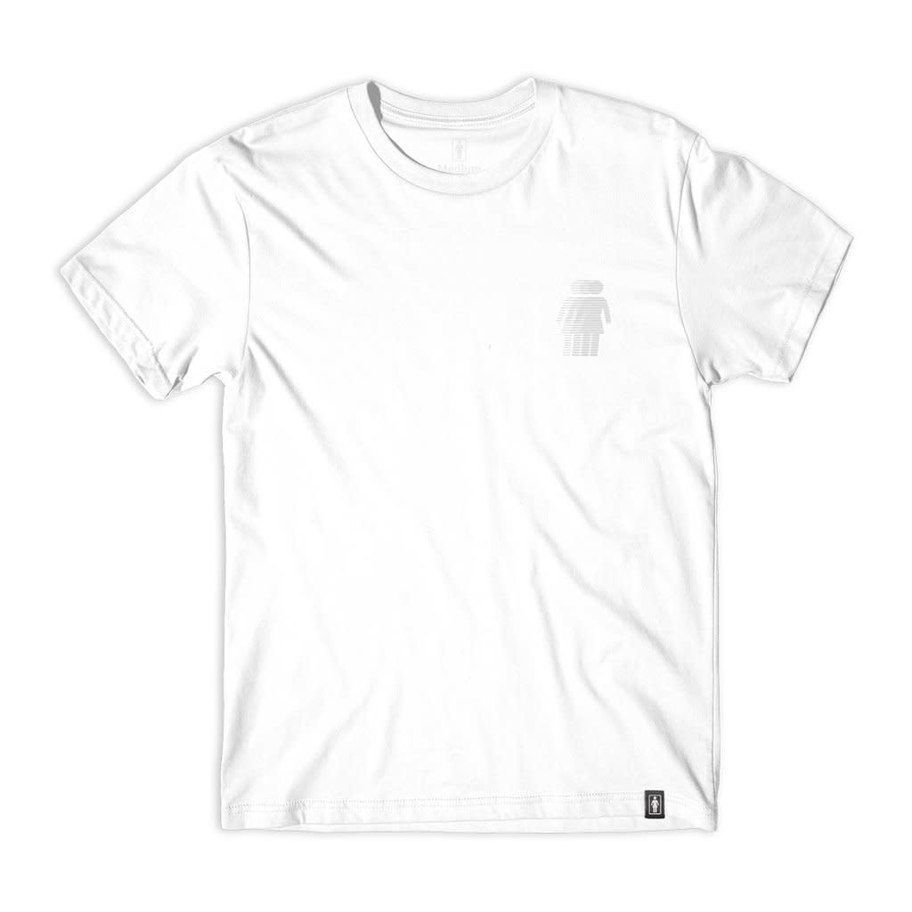 Girl Skateboard Company National Hero White Tee