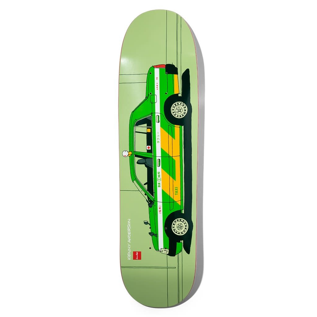 """Chocolate Skateboards Anderson World Taxis 8.5"""""""