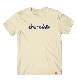 Chocolate Skateboards Chocolate Chunk Cream L Tee