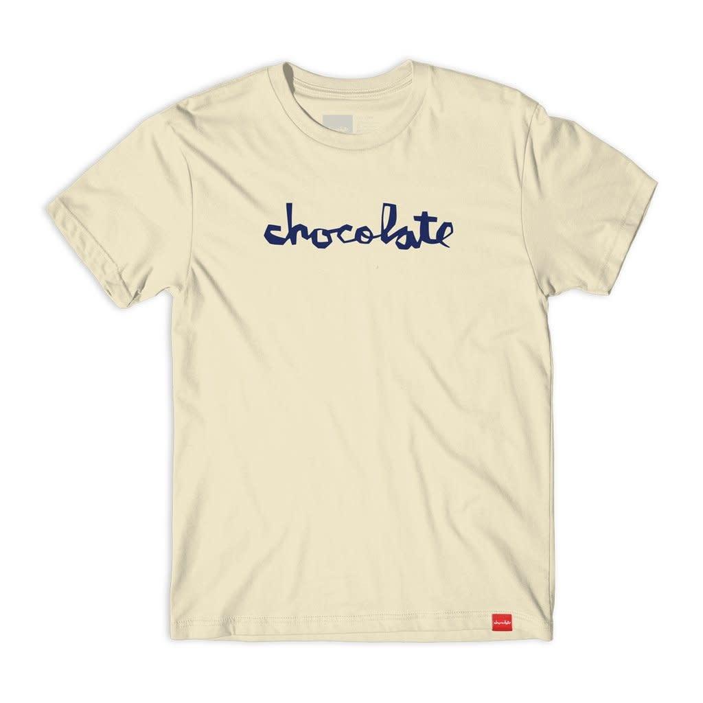 Chocolate Skateboards Chocolate Chunk Cream L Tee