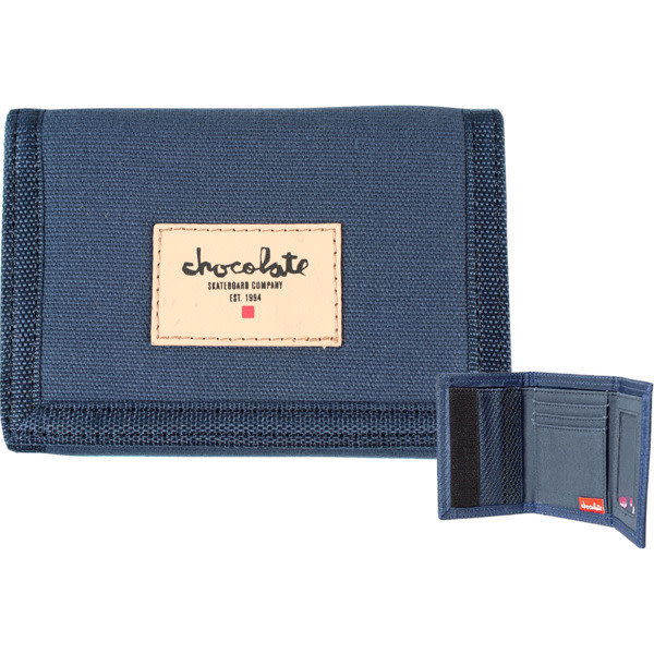 Chocolate Skateboards Chocolate Chunk Est Wallet Navy