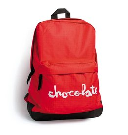 Chocolate Skateboards Chocolate Chunk Red Backpack