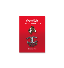 Chocolate Skateboards Chocolate City Cowboys Pin Set