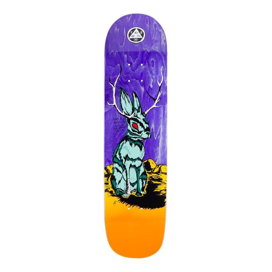"Welcome Skateboards Jackalope on Bunyip Mid 8.25"" Desert"