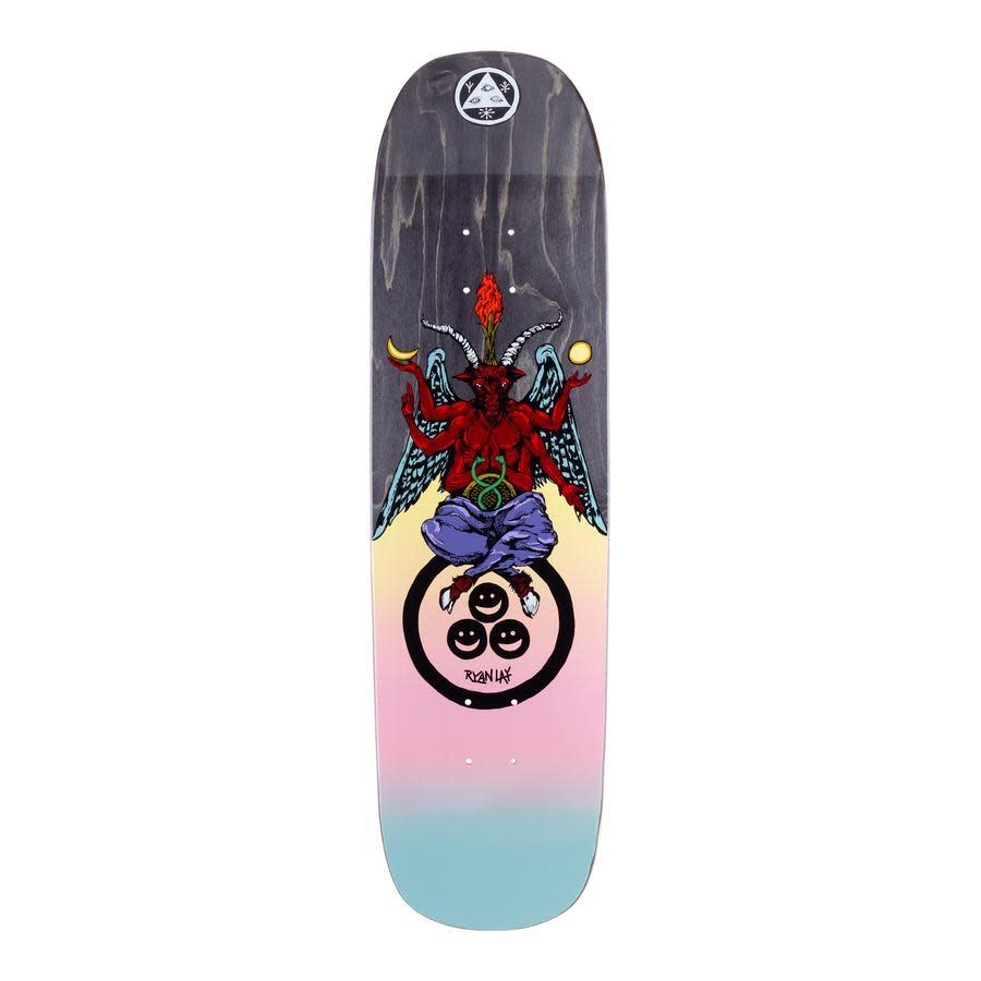 "Welcome Skateboards Bapholit on Stonecipher 8.6"" Black Stain"