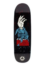 """Welcome Skateboards Magic Bunny on Boline 9.25"""" Black/Red/Blue"""