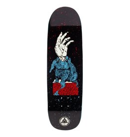 "Welcome Skateboards Magic Bunny on Boline 9.25"" Black/Red/Blue"