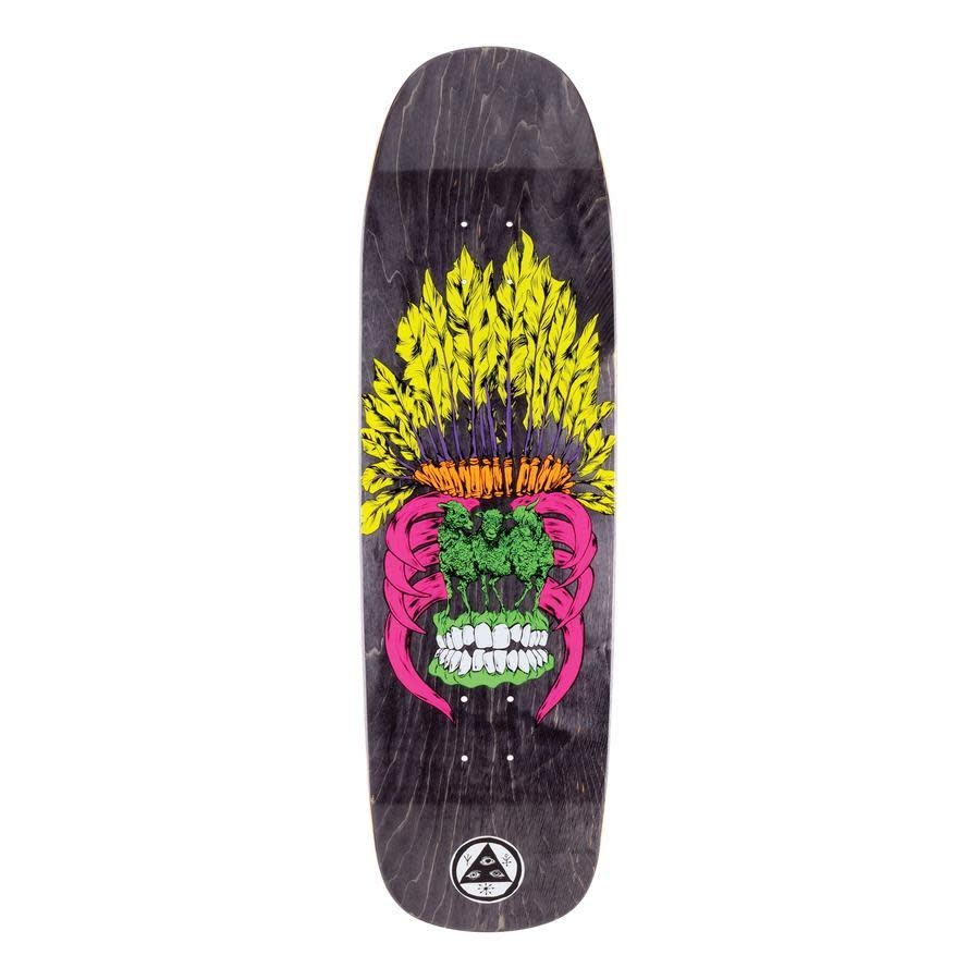 """Welcome Skateboards Sheep of a Feather on Golem 9.25"""" Black Stain"""