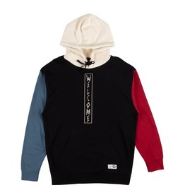 Welcome Skateboards Quadrant French Terry Hoodie Blk/Blu/Red