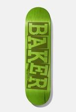 """Baker Skateboards AR Ribbon Name Green 8.125"""""""