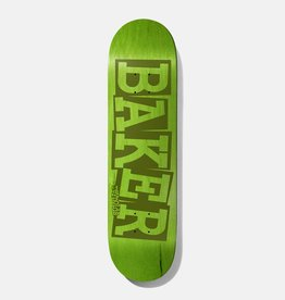 Baker Skateboards AR Ribbon Name Green 8.125""