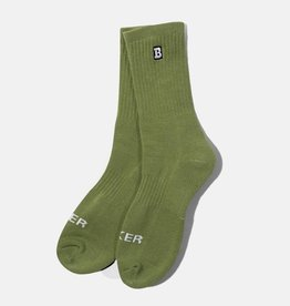 Baker Skateboards Capital B Olive Sock