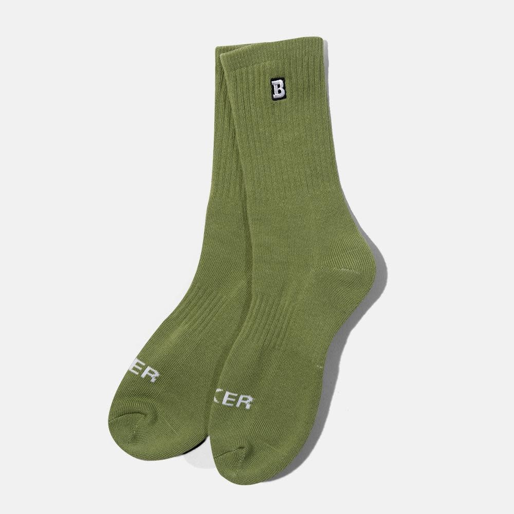 Baker Skateboards Capital B Olive Sock