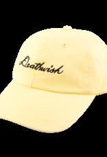 Deathwish Skateboards Script Canary Dad Cap