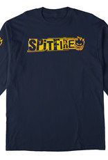 Spitfire Wheels Spitfire L/S Ransom Tee Navy/Yellow