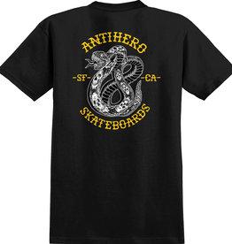 Anti Hero Antihero Eighteen Black/Yellow Tee