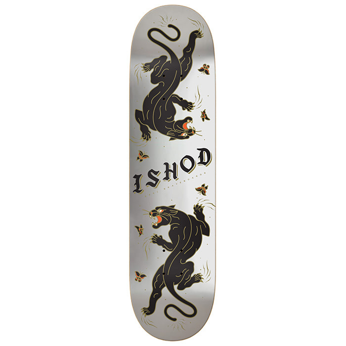 Real Skateboards Ishod Catscratch Silver 8.5