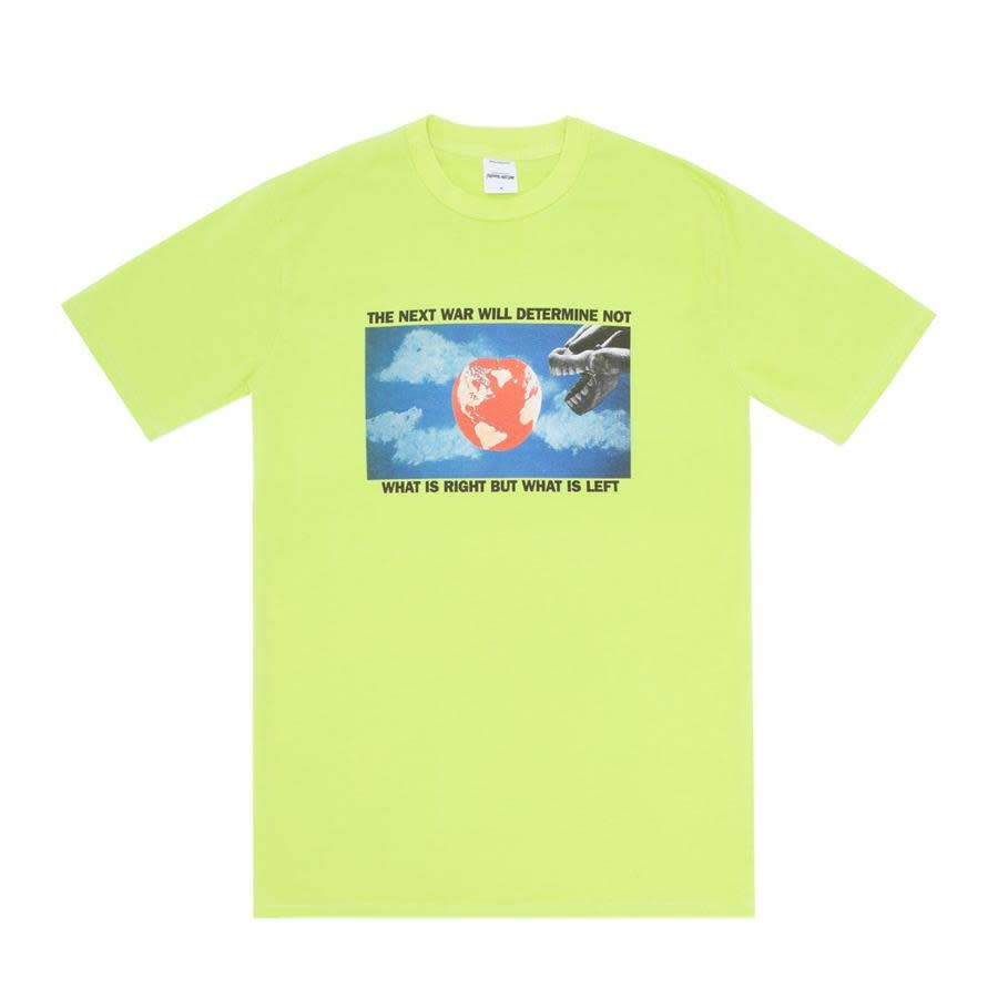 Fucking Awesome What Is Left Tee Lime