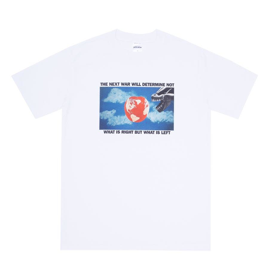 Fucking Awesome What Is Left Tee White