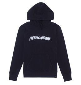 Fucking Awesome Garment Dyed Chenile Logo Hood Black