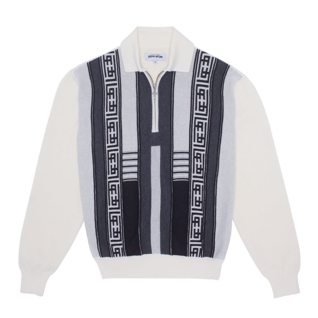Fucking Awesome Polo Sweater White