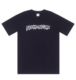 Fucking Awesome Puff Outline Logo Tee Black