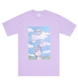 Fucking Awesome Love Force Tee Pink